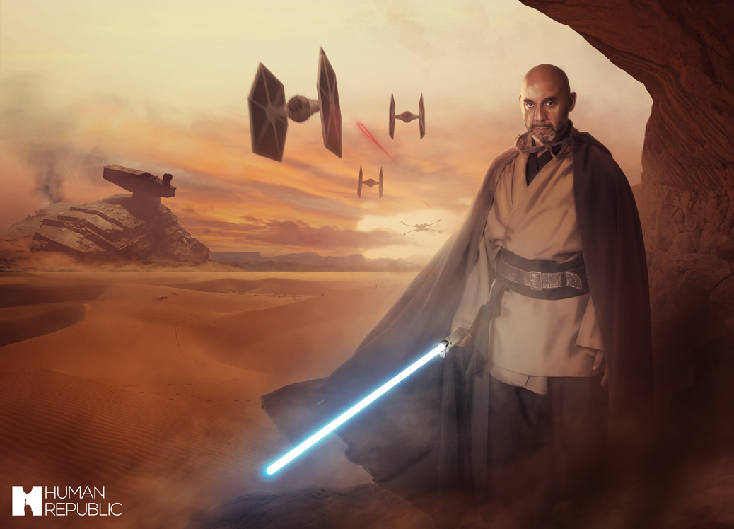 A Star Wars themed image.